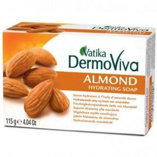 Dabur vatika dermoviva almond soap