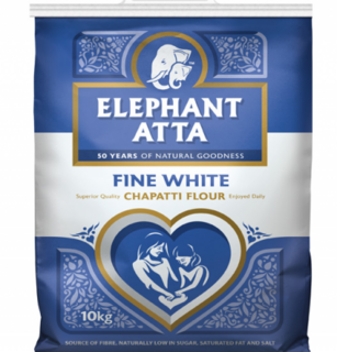 Elephant atta white